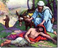 The Good Samaritan Parable By Jesus.